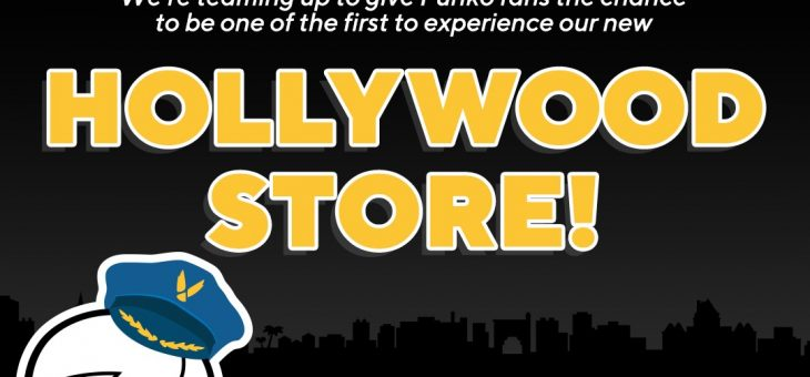 WIN A TRIP TO THE FUNKO HOLLYWOOD STORE IN LA!