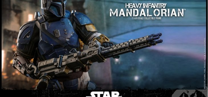 Star Wars: Hot Toys 1:6 Heavy Infantry Mandalorian Figure