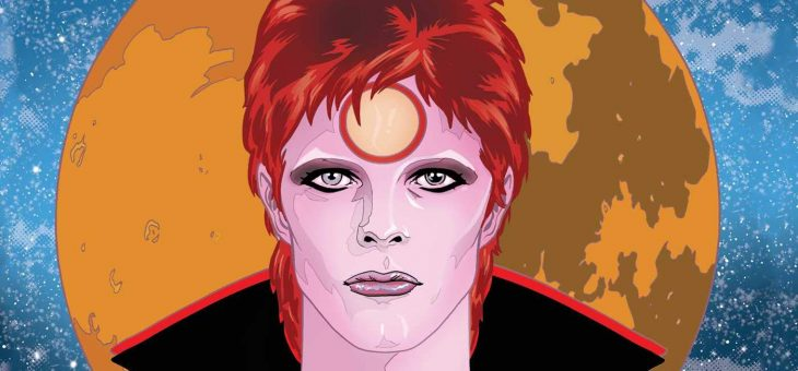 BOWIE: Stardust, Rayguns, and Moonage Daydreams (Insight Comics) Hardcover