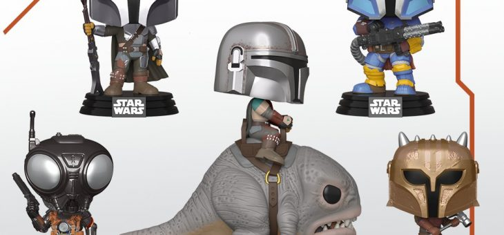 Funko: Pop! Star Wars™—The Mandalorian!