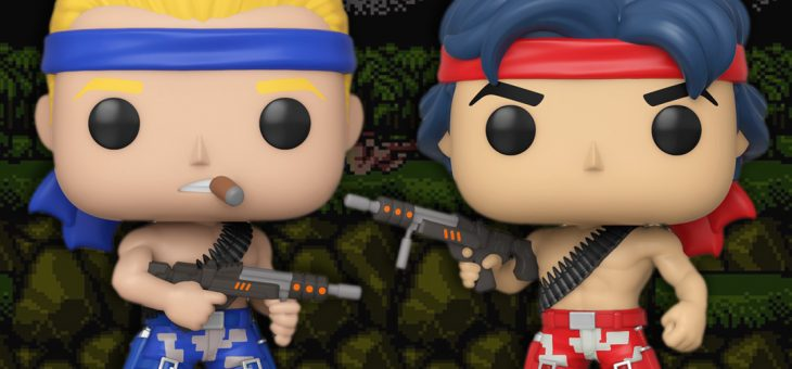 Funko: Pop! Games: Contra Bill and Lance