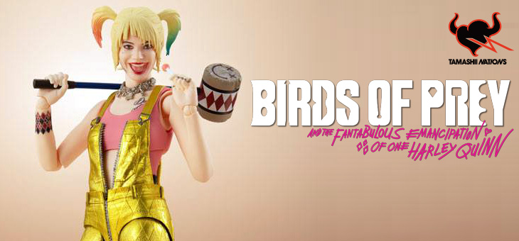 Birds of Prey S.H. Figuarts Action Figure Harley Quinn 15 cm