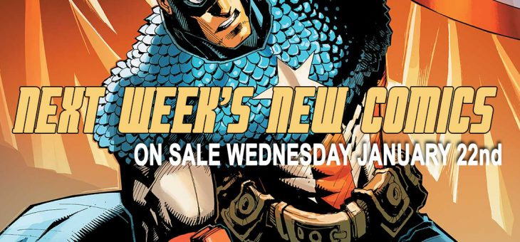 New Comics For Wed 22nd January 2020