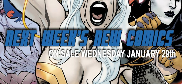 New Comics For Wed 29th January 2020