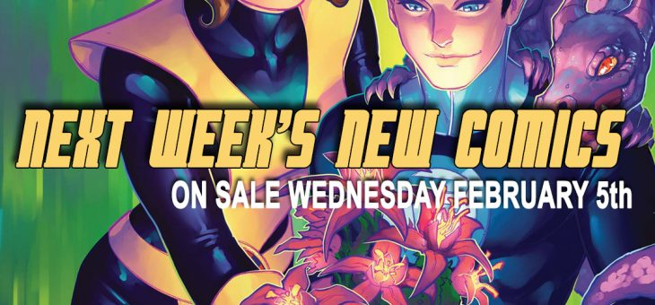 New Comics For Wed 5th February 2020