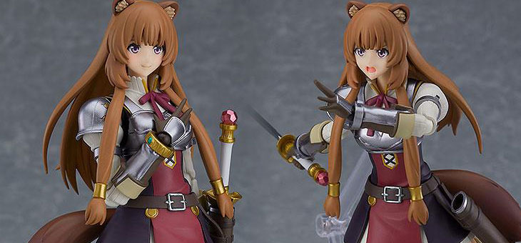 The Rising of the Shield Hero Figma Action Figure Raphtalia 15 cm