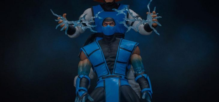 Mortal Kombat Action Figure 1/12 Raiden 17 cm