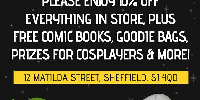Grand Re-opening Forbidden Planet Sheffield