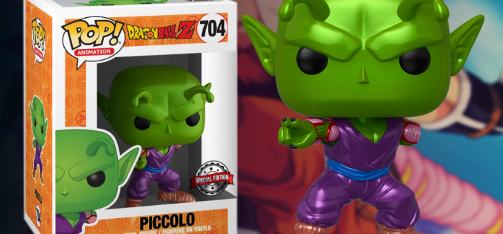 Funko: Dragon Ball Z Metallic Piccolo Exclusive Pop! Vinyl