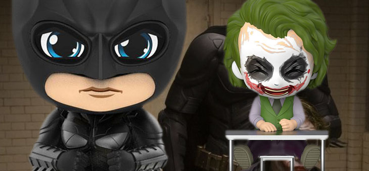 Batman: Dark Knight Trilogy Cosbaby Mini Figures Joker & Batman 12 cm