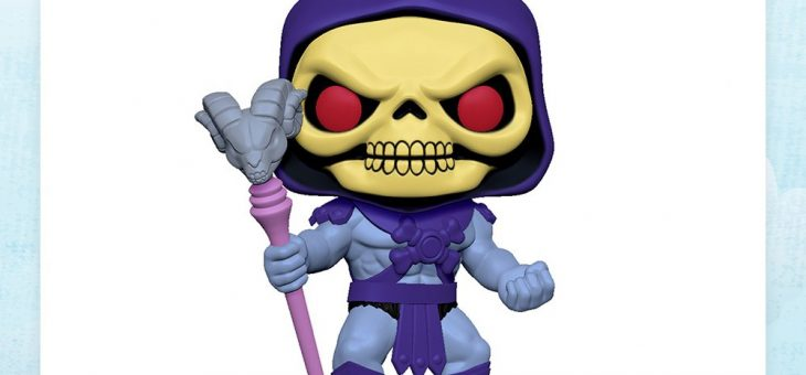 Funko: POP Animation: Masters of the Universe – 10″ Skeletor