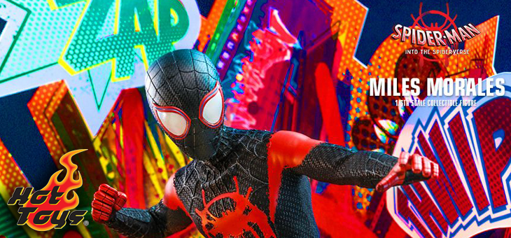 Hot Toys Spider-Man: Into the Spider-Verse – 1/6th scale Miles Morales Collectible Figure