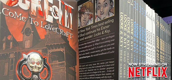 Locke & Key, Vol. 1 -6 Available now in our stores!