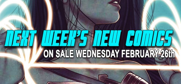 New Comics For Wed 26th February 2020