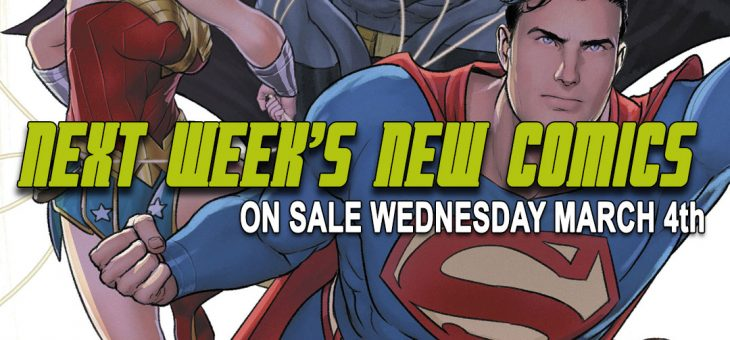 New Comics For Wed 4th March 2020