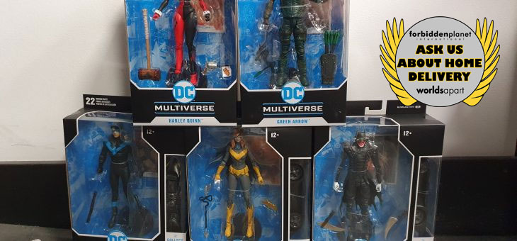 FPI Glasgow: DC Multiverse McFarlane Action Figures in stock