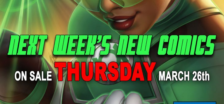 New Comics For Thursday 26th March 2020 – CANCELLED