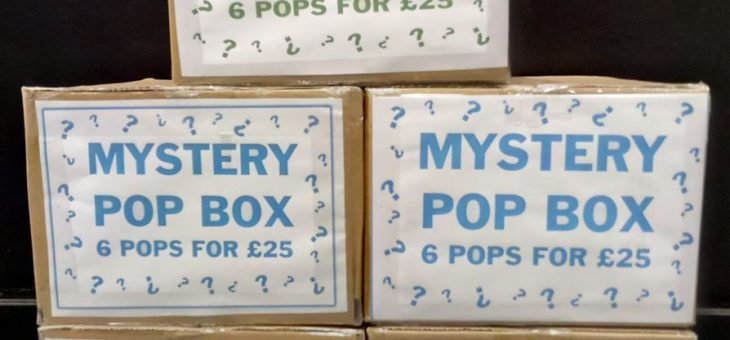 Mystery Pop! Boxes @ Worlds Apart Birmingham