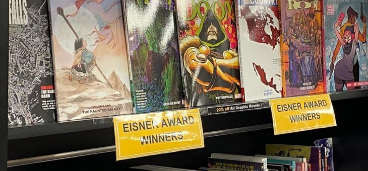 "Worlds Apart Liverpool ""Eisner Award Winners!"""