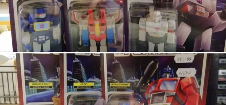 Super 7 ReAction Figures