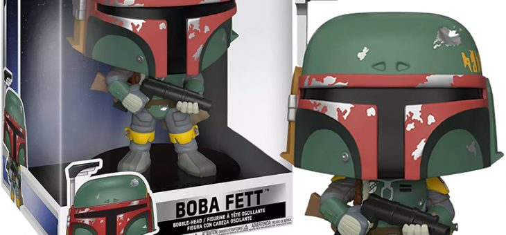 Funko POP! Star Wars: Empire Strikes Back – 10″ Boba Fett
