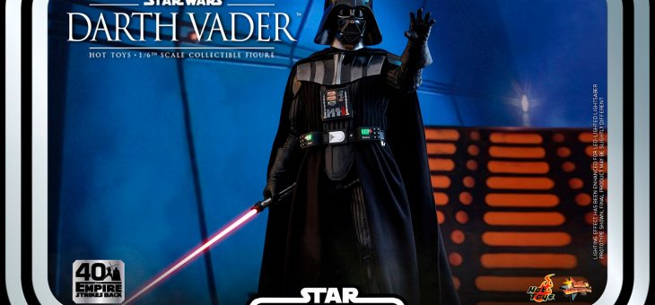 Star Wars Action Figure 1/6 Darth Vader The Empire Strikes Back 40th Collection 35cm