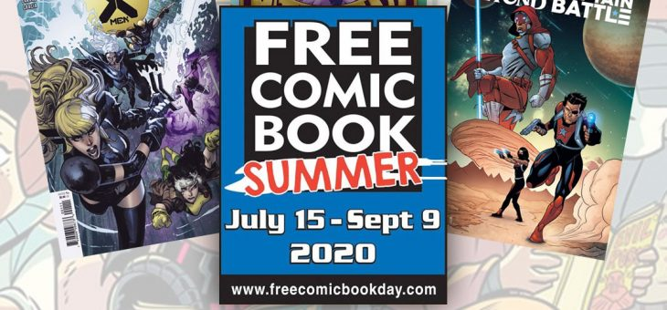 Free Comic Book Summer July 15- Sep 9th