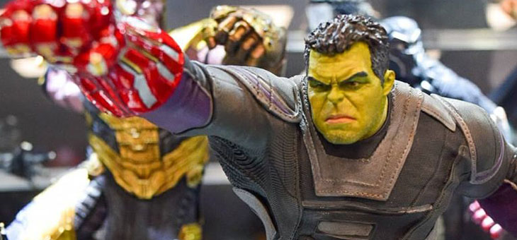 Avengers: End Game Iron Studios Hulk Statue