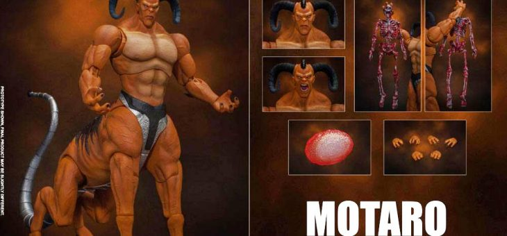 Mortal Kombat Action Figure 1/12 Motaro 24 cm