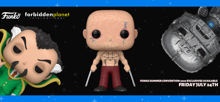 Funko SDCC FPI Exclusive Pop! Vinyls