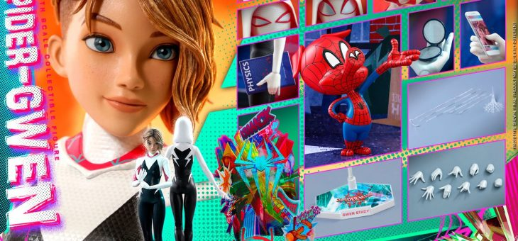 Spider-Man: Into the Spider-Verse Movie Masterpiece Action Figure 1/6 Spider-Gwen 27cm