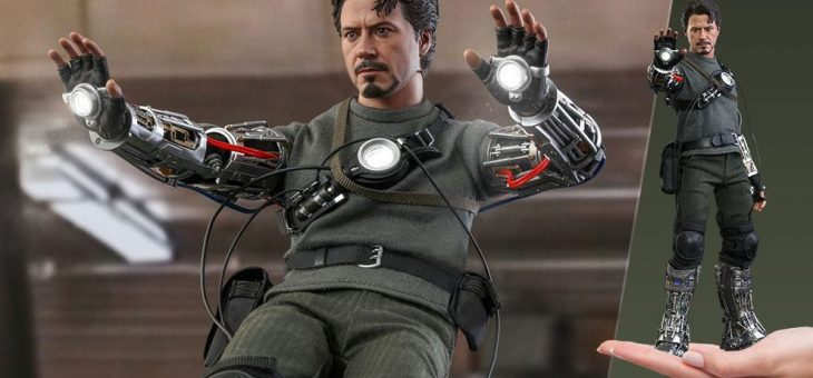 Iron Man Movie Masterpiece Action Figure 1/6 Tony Stark (Mech Test Deluxe Version) 30 cm