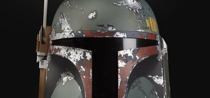 Star Wars: The Black Series Boba Fett 1:1 Scale Wearable Helmet (Electronic) from Hasbro