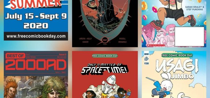 Free Comic Books Wed 26th Aug 2020
