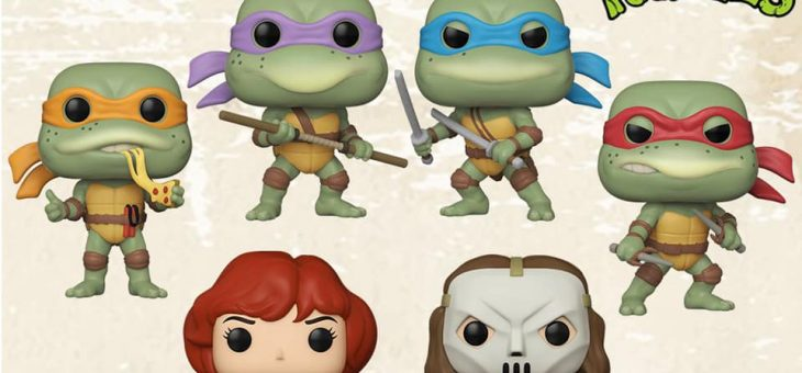 Funko: Pop! Vinyl Retro Toys Teenage Mutant Ninja Turtles