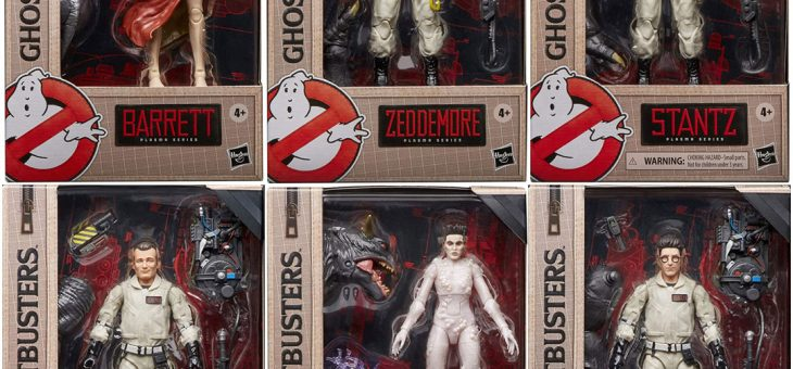 Ghostbusters Plasma Series Action Figures @FPI Belfast