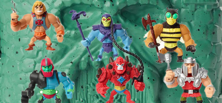 Masters of the Universe Eternia Minis Mini Figures Display (18)