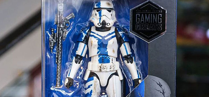 Star Wars: The Black Series – Gaming Greats Stormtrooper Commander Figure from Hasbro