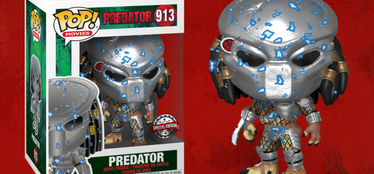 Funko: Pop! Vinyl Predator Electric Blue Armour Exclusive