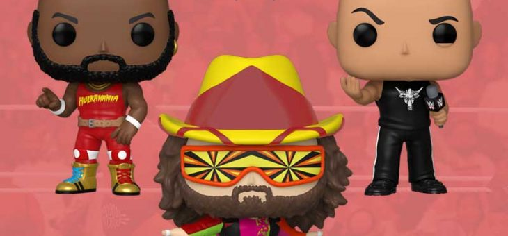 Funko: Pop! Vinyl WWE NEW
