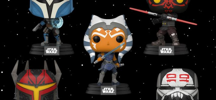 Funko: Star Wars: The Clone Wars Pop! Vinyl