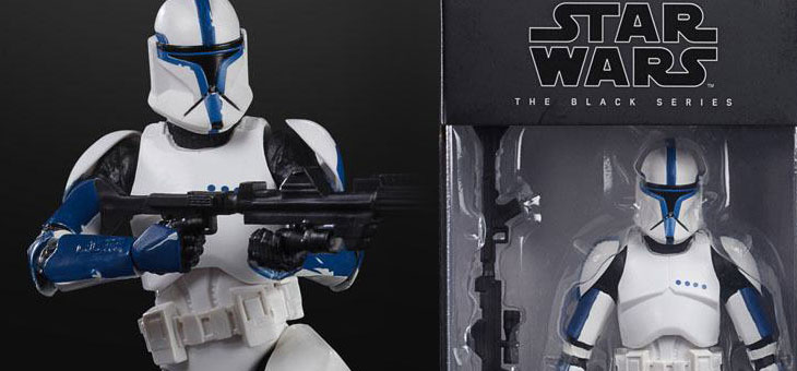 Star Wars Episode II Black Series Action Figure 2020 Phase I Clone Trooper Lieutenant 15 cm