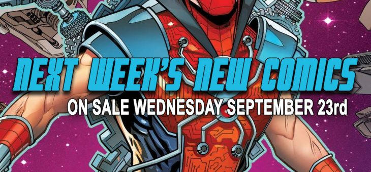 New comics Books September 23rd 2020