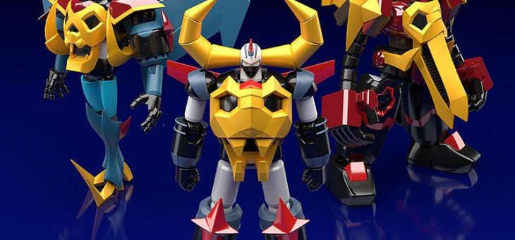 Gaiking: Legend of Daiku-Maryu Moderoid Plastic Model Kits Gaiking, Raiking and Balking