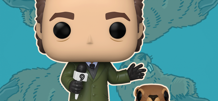 Funko:  Pop! Vinyl Groundhog Day – Phil with Punxsutawney Phil