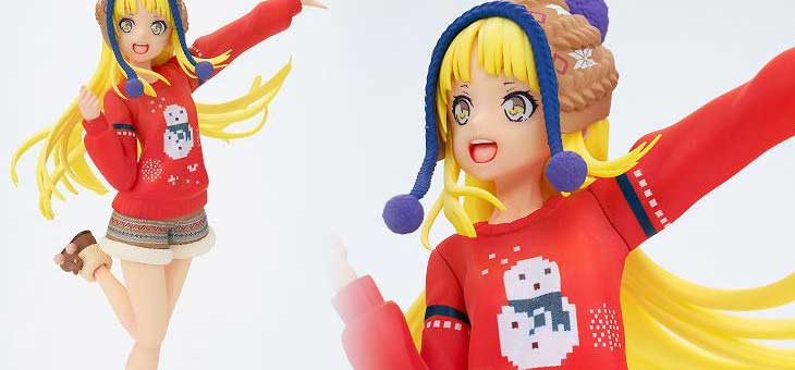 BanG Dream! Girls Band Party! PATOO PVC Statue Gemaki Kokoro Winter Wear Ver. 18 cm