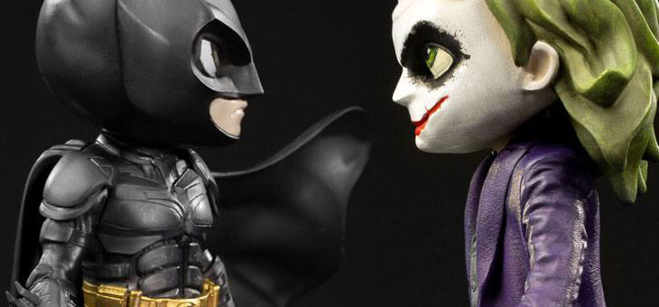 The Dark Knight Mini Co. PVC Figure Batman / Joker 16 cm