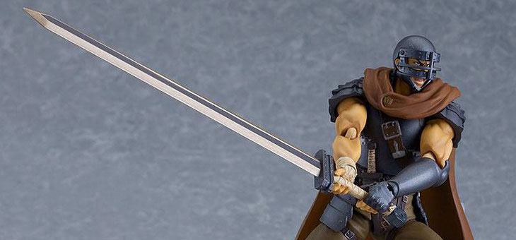 Berserk Movie Figma Action Figure Guts Band of the Hawk Ver. Repaint Edition 17 cm