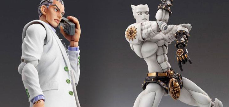 JoJo's Bizarre Adventure Super Action Action Figures Chozokado Killer Queen / Yoshikage Kira