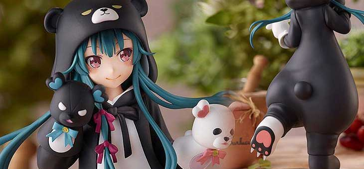 Kuma Kuma Kuma Bear Pop Up Parade PVC Statue Yuna 17 cm